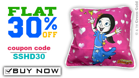 Chhota Bheem Cushion Covers
