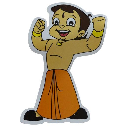 Chhota Bheem Jumbo Cutout Sticker