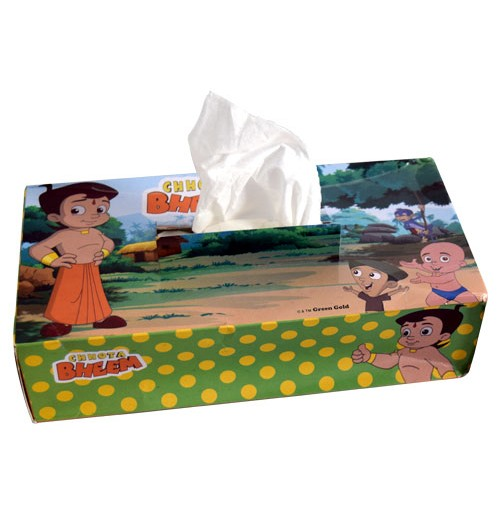 Chhota Bheem Tissue Box