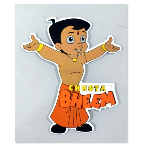 Chhota Bheem A4 Nobel Cut Out