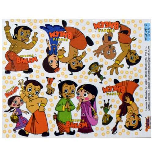 91e83a57f Buy Chhota Bheem Stickers Online Best Prices in India | Free Shipping