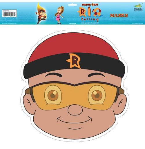 Mighty Raju Rio Calling - Masks