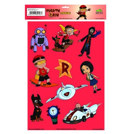 Mighty Raju Stickers
