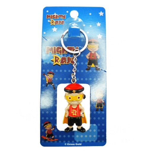Mighty Raju Key Chain