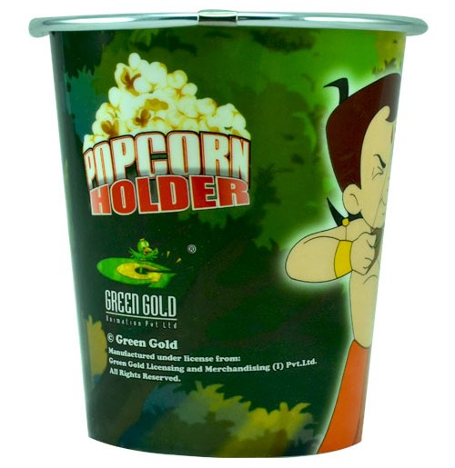 Chhota Bheem Round Pop Corn Holder