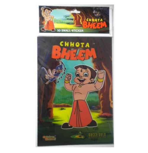 Chhota Bheem 3D Small Sticker