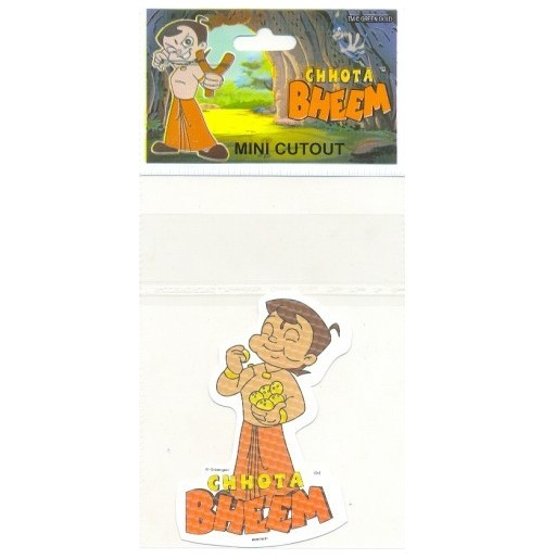 Chhota Bheem Mini Cutout Sticker