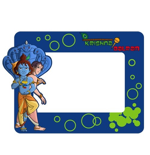 Krishna Balram Photo Frame