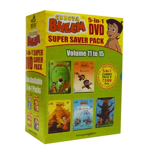 5-IN-1 Combo Pack Vol. 11 - 15