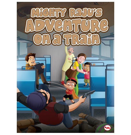 Mighty Rajus Adventure On A Train