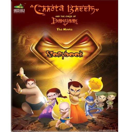 Story Book - Chhota Bheem and The Curse Of Damyaan