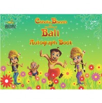 Chhota Bheem & The Throne Of Bali Autograph Book