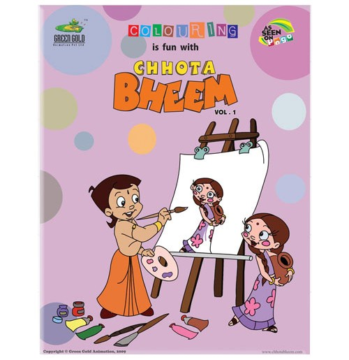 Chhota Bheem Coloring Book