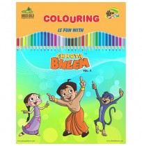 Coloring Book - Chhota Bheem