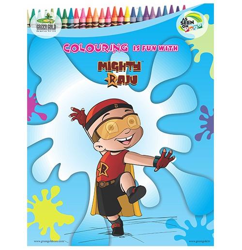 Coloring Book - Mighty Raju