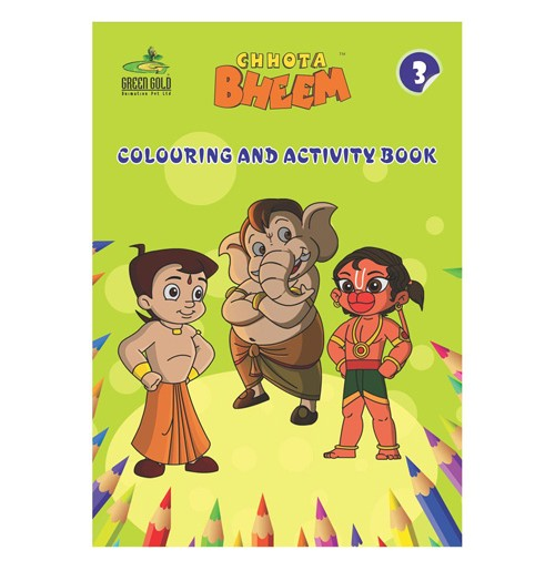 Mini Coloring and Activity Book - 3