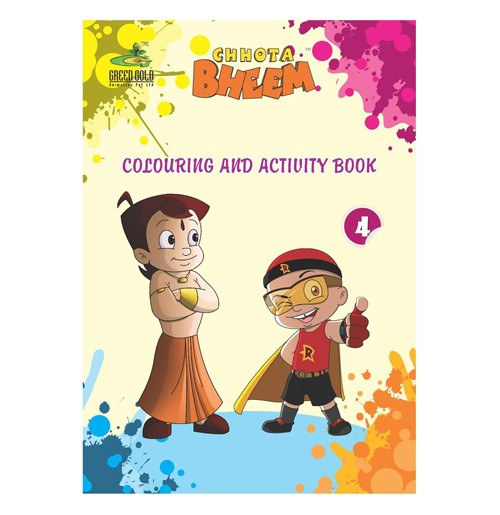 Mini Coloring and Activity Book - 4