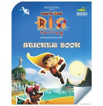 Mighty Raju Rio Calling Sticker Book
