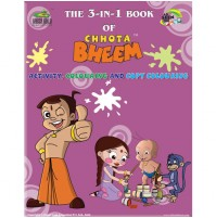 The 3-IN-1 Book Of Chhota Bheem