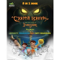 3-IN-1 Book of Chhota Bheem and The Curse Of Damyaan
