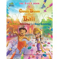 The 3-IN-1 Book Of Chhota Bheem And The Throne Of Bali
