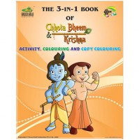 The 3-IN-1 Book Of Chhota Bheem & Krishna