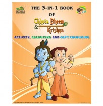 The 3-IN-1 Book Of Chhota Bheem and Krishna