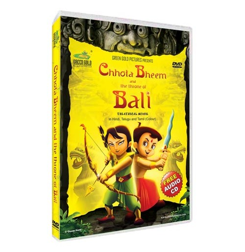 Chhota Bheem and The Throne Of Bali - Movie DVD