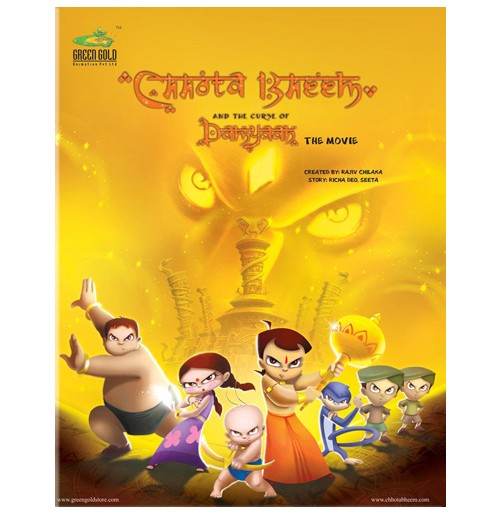 Chhota Bheem and The Curse Of Damyaan - Comic