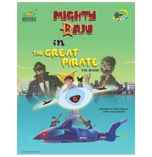 Mighty Raju The Great Pirate - Comic