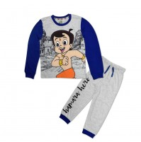 Chhota Bheem Night Suit Blue and Grey