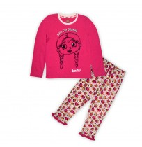 Chutki Night Suit Pink