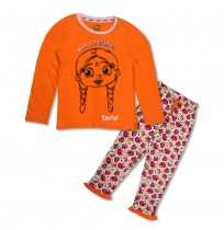 Chutki Night Suit Orange