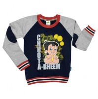 Chhota Bheem Sweat Shirt Blue Grey
