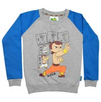 Chhota Bheem Sweat Shirt Blue and Grey