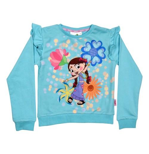Chutki Sweat Shirt Blue