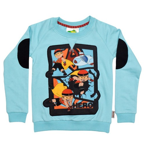 Mighty Raju Sweat Shirt Blue