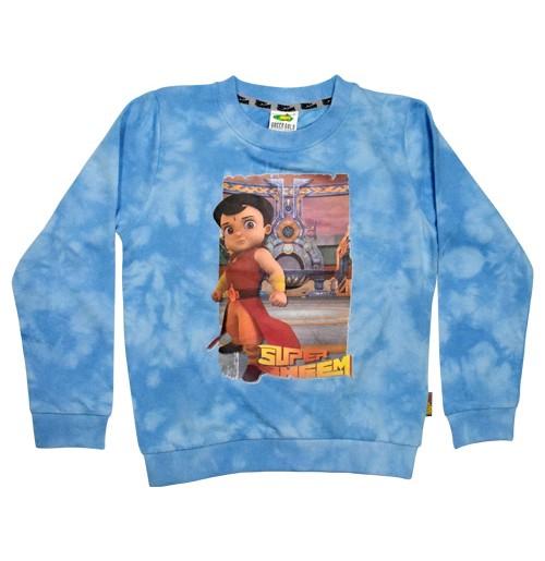 Super Bheem Sweat Shirt Blue