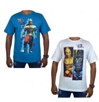 Hanuman Vs Mahiravana T-Shirts-Combo