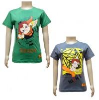 Boys T-Shirt Combo - Green and Grey