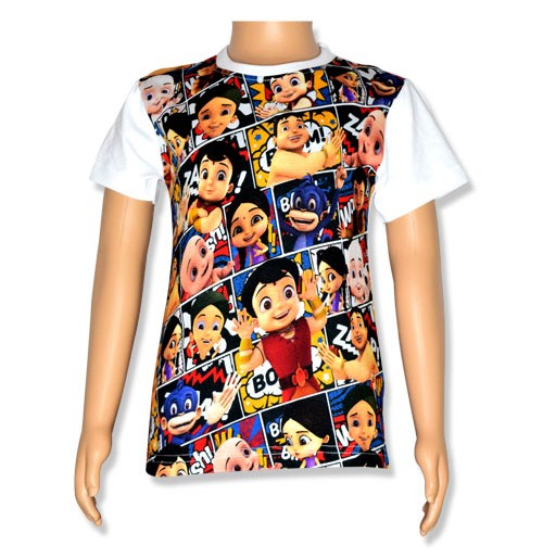 Super Bheem Digital Print T-Shirt