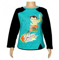 Chhota Bheem Full Sleeve T-Shirt  - Pool Green