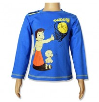 Chhota Bheem Full Sleeve T-Shirt - Imperial Blue