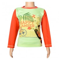 Chhota Bheem Full Sleeve T-Shirt - Lime Green