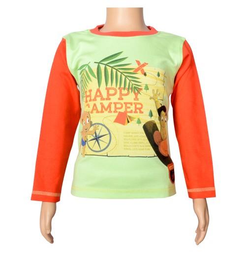 Chhota Bheem Full Sleeve T-Shirt - Lime Green