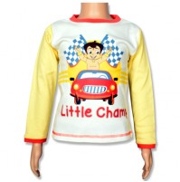 Chhota Bheem Full Sleeve T-Shirt - Snow White