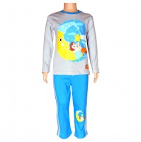 Chhota Bheem Night Suit Grey and Blue