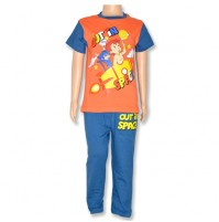 Chhota Bheem Night Suit - Orange