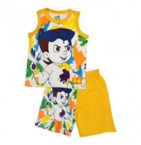 Chhota Bheem Short Set - Multi Color
