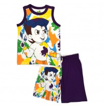Chhota Bheem Short Set - Multi color 1